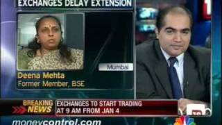 Extended trading hours to create execution issue: Deena Mehta