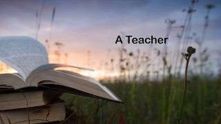 Who is Teacher ????- Ppt in video format