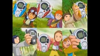 [AMV] Digimon Adventure 02 Medley (Wir Drehen Auf, Jetzt Ist Es Soweit, Ich Werde Da Sein)