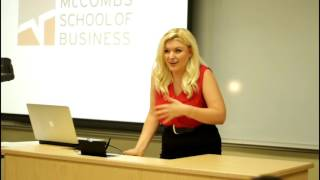 Tay Allyn McCombs School of Business: How I Went Viral