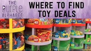 Where I find Toy DEALS - Shop with Me