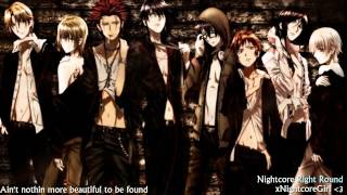 ♫ Nightcore ♫ - Right Round With Lyrics (Flo Rida)