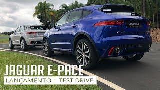 Jaguar E- Pace - Apresentação e Test Drive On-Road