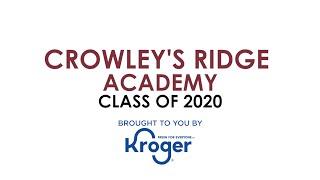 Class of 2020 Senior Salute: Crowley's Ridge Academy