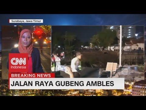 Breaking News! Jalan Raya Gubeng Ambles