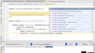 Bài 42: Custom adapter và gắn dữ liệu lên cho màn hình các chủ đề