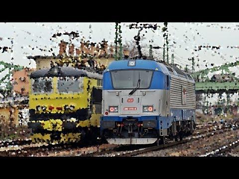 ČD 380 - Škoda 109E villamosmozdonyok vizsgáztak az 1-es vasútvonalon letöltés