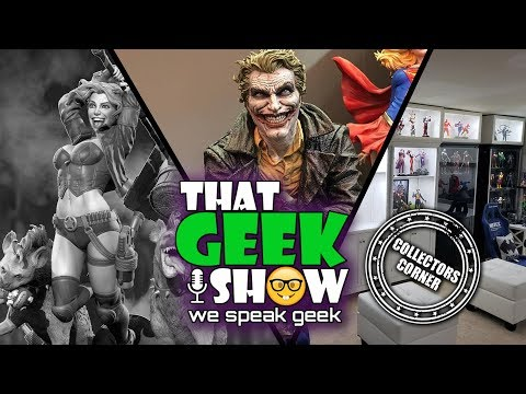 that-geek-show-collectors-corner-jr-statue-collector-captain-marvel-trailer-reaction