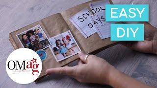 Make Your Own Custom Scrapbook | Crafts & DIYs | @American Girl