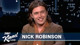 Nick Robinson on Going to Prom with LL Cool J's Daughter & His Girlfriend's Janet Jackson Obsession