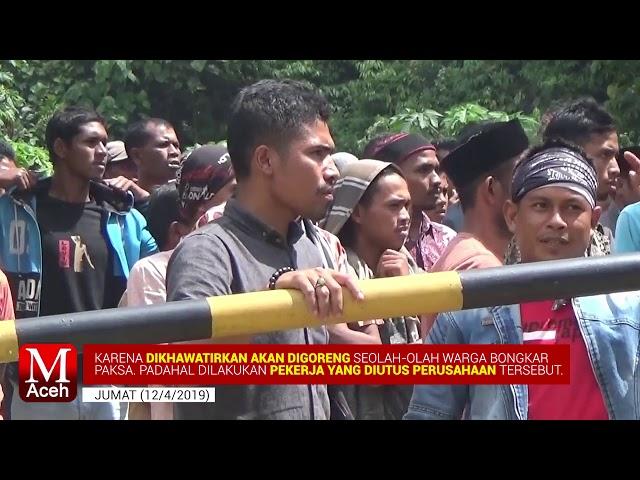 Detik-detik Pembongkaran Kamp PT EMM dan Aksi Lakban Mulut