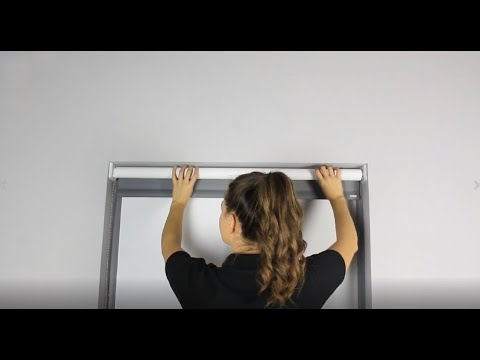How to Install - DrillFree / EasyFit Roller Blind