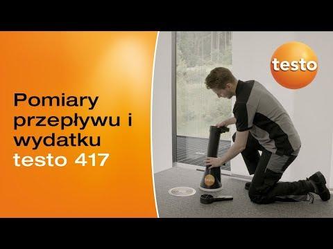 Anemometr testo 417 - sprawna kontrola wentylacji