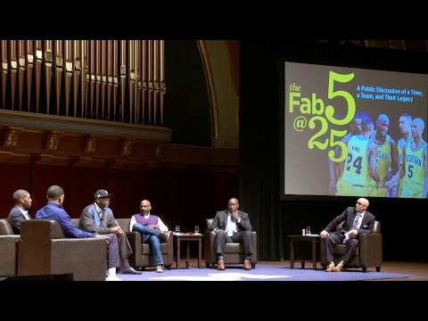 Fab Five @ 25 - A Public Discussion of a Time, a Team, and Their Legacy