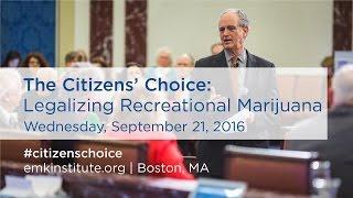 Should Massachusetts Legalize Recreational Marijuana?