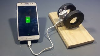 how-to-make-free-energy-mobile-phone-charger-with-magnets-science-projects