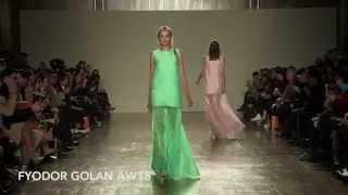 FYODOR GOLAN AW15 at London Fashion Week