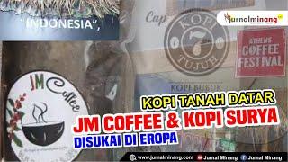 Athens Coffee Festival 2021| Kopi Tanah Datar hadir di Yunani | JM Coffee