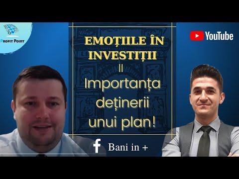 Controlează-ți emoțiile în investiții! Importanța deținerii unui plan!  Educație Financiară 2021