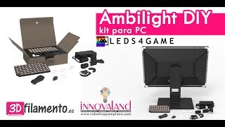 Ambilight DIY kit para PC [Leds4game] | Unboxing