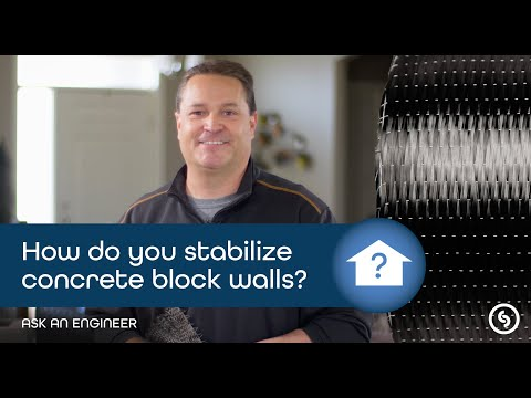 How to Stabilize Concrete Block Walls