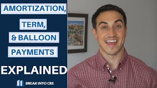 Loan Amortization, Loan Term, and Balloon Payments in Commercial Real Estate Explained