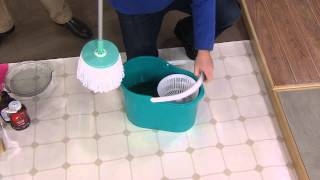 Spin & Go Pro Spin Mop w/ Mop Head & Duster Cover with Dan Hughes