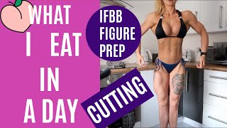 FULL DAY OF EATING | IFBB FIGURE | 4 WEEKS OUT
