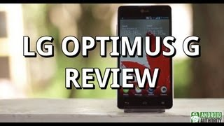 LG Optimus G Review!