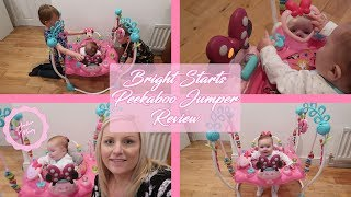 Bright Starts Minnie Mouse Peekaboo Jumper Review