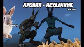КРОЛИК - НЕУДАЧНИК, СМЕШНЫЕ МОМЕНТЫ #1  (OVERGROWTH)