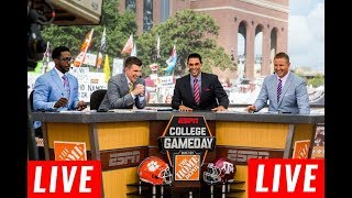 College Gameday Live HD 11/2/2019 | Good Morning Football Weekend Live | College Football Live