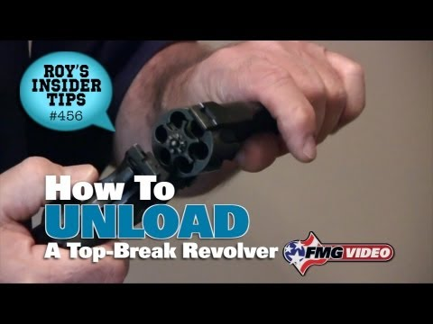 How To Unload A Top-Break Revolver