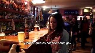 preview picture of video 'Pedida de mano con Flashmob en Majadahonda'