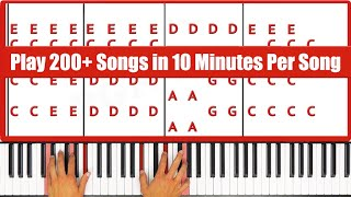 Play Over 200 Songs In Less Than 10 Minutes Per Song!