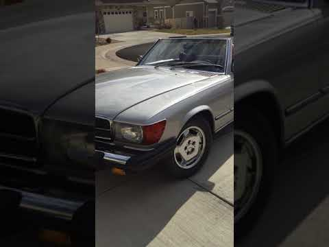 Video of 1979 Mercedes-Benz 450SL located in Parker Colorado Offered by a Private Seller - LUVZ