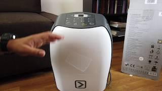 Review TROTEK TTK40E dehumidifier | Specs, features, settings, demo, noise