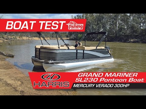 Fishing Monthly Australia Review - Grand Mariner SL 230