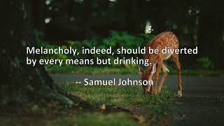 3 Quotes About Drinking