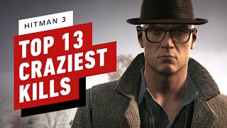 Top 13 Crazy Hitman 3 Kills and Takedowns by IGN
