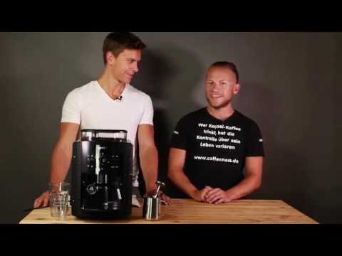 Krups EA 8108 Kaffeevollautomat im Test - Fail - Milchschaumexplosion