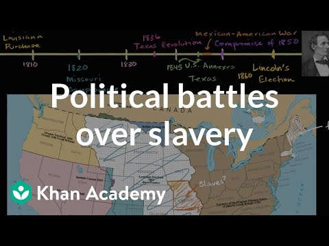 The Missouri Compromise and slavery (video) | Khan Academy