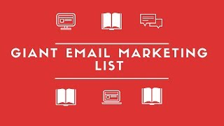 Giant Email Marketing List:  Your Questions Answered!