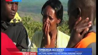 Eight reported dead and 25 injured in deadly road accident in Timboroa