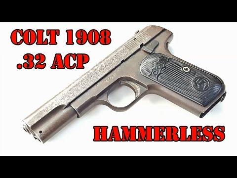 Colt Model 1903 Pocket Hammerless - смотреть онлайн на Hah Life