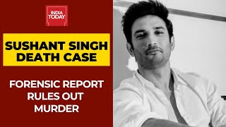 Sushant Singh Death: Forensic Reports Rule Out Murder, Actor's Death Is A Case Of Suicide