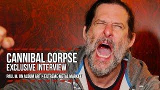 Cannibal Corpse's Paul Mazurkiewicz on Brutal Album Art + Extreme Metal Market