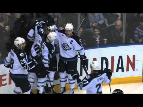 Highlights: IceCaps 5 Pirates 1 (Mar. 12, 2014)