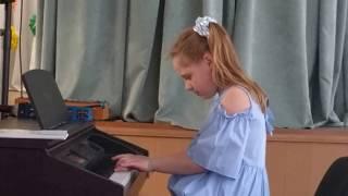 "Ева Калтыгина исполняет ""Тарантеллу"""