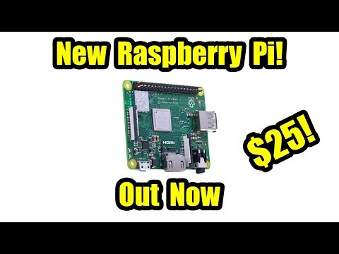 New Raspberry Pi Announced Raspberry Pi 3 Model A+ On Sale Now $25 Mp3